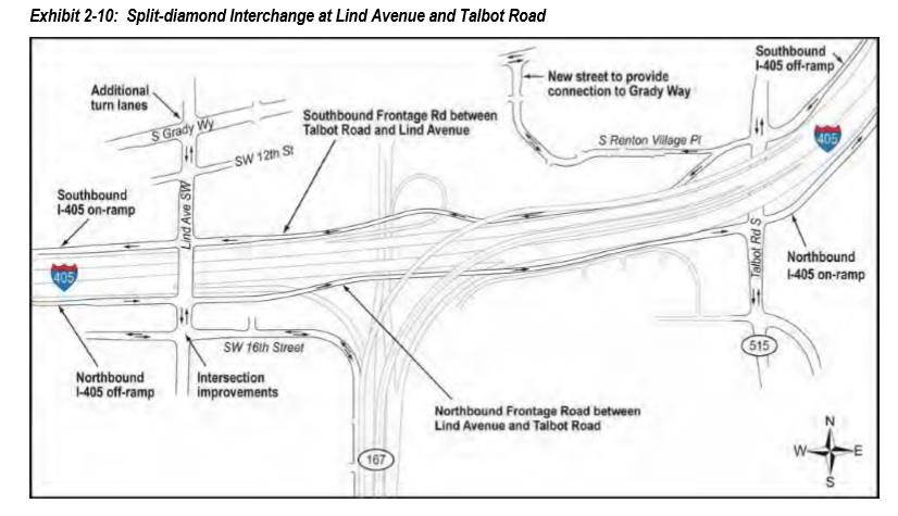New I-405 to I-167 HOV connector is one step in a long-term